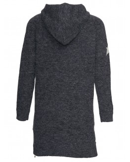 Cord jacket with hoody
